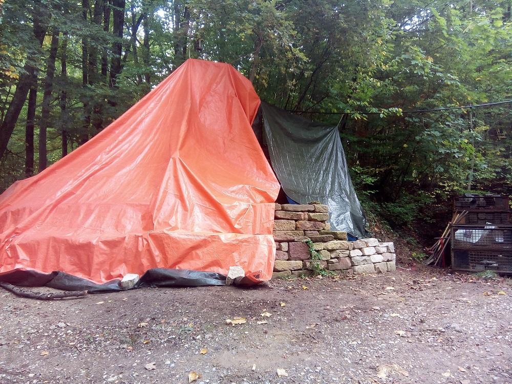Trockenmauerbaukurse 2020 im Natursteinpark